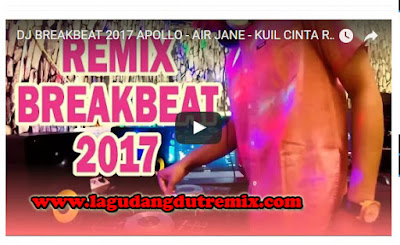 Dj Breakbeat 2017 Apollo Air Jane - Kuil Cinta Remix
