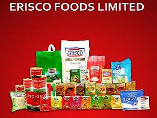 Erisco Foods Limited Recruitment لمشغل الآلات