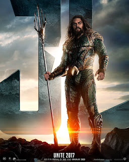 Warner Bros. Justice League Trailer Premiere Aquaman Poster