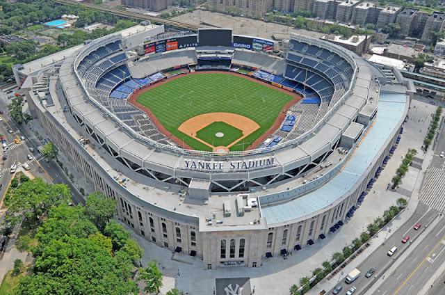 Estádio dos Yankees em Nova York