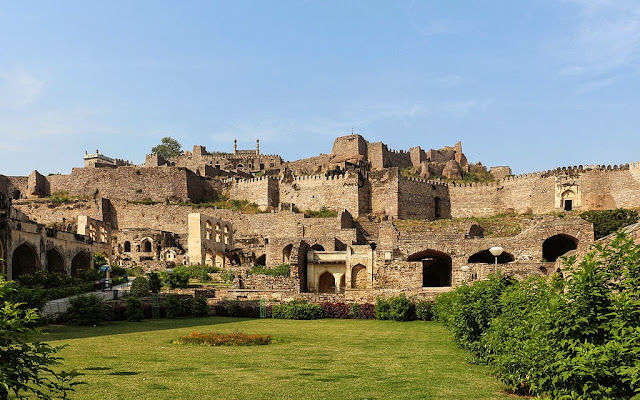 Golconda Fort in Hyderabad India