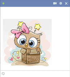 Owl Gift Sticker