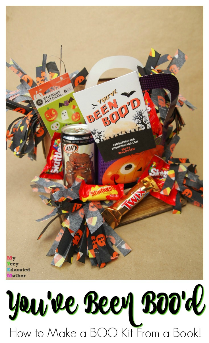 How to Make a BOO Kit In a Book