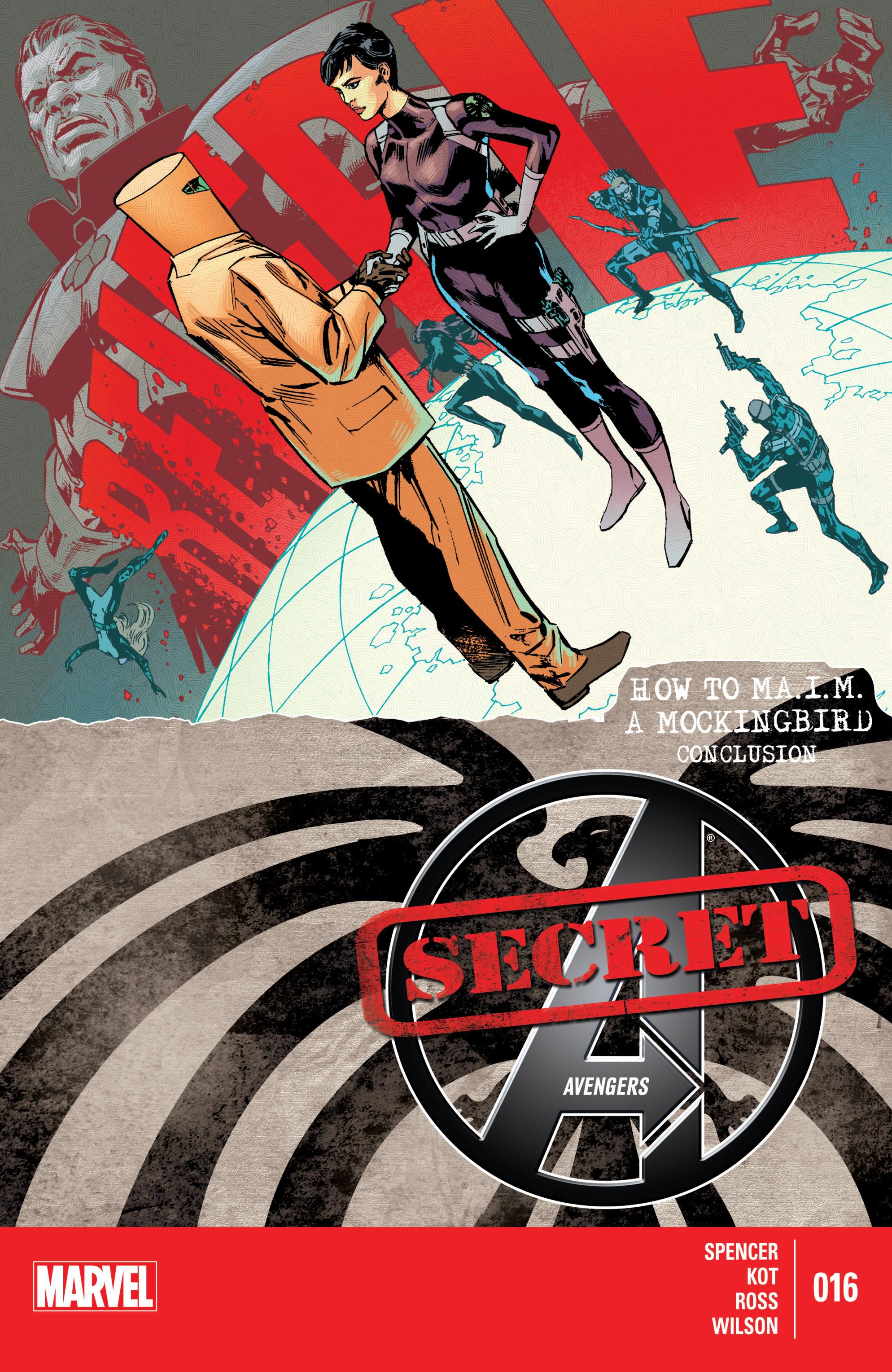 Read online Secret Avengers (2014) comic -  Issue #16 - 1