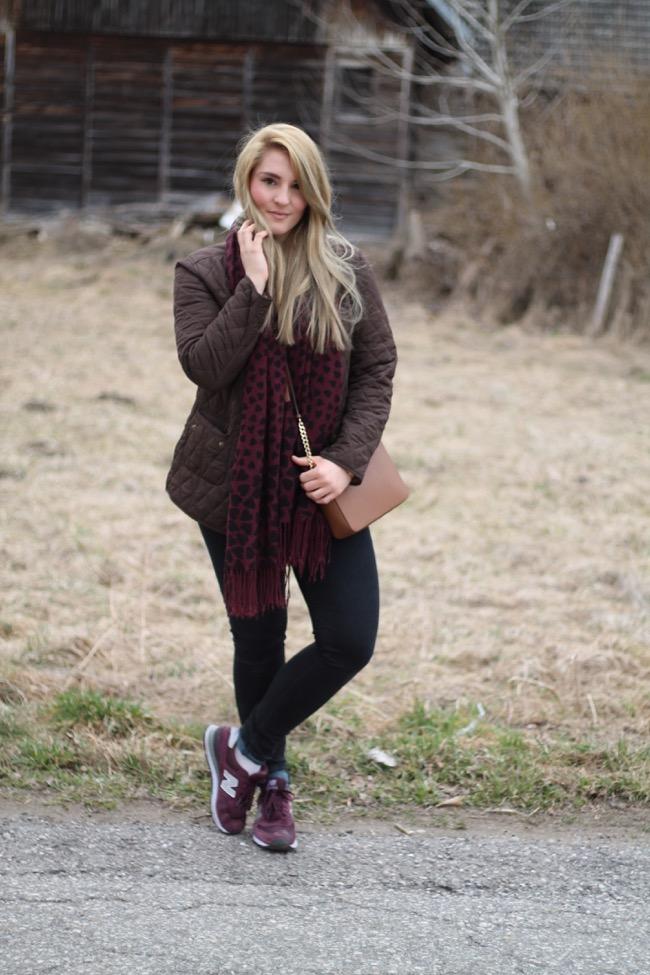 Steppjacken / Fashionblogger / Oesterreich / Kaerntner Blogger / Michael Kors Tasche / Witt Weiden Steppjacke / New Balance Sneaker / Lagenlook / Layering / Fruelingslook /