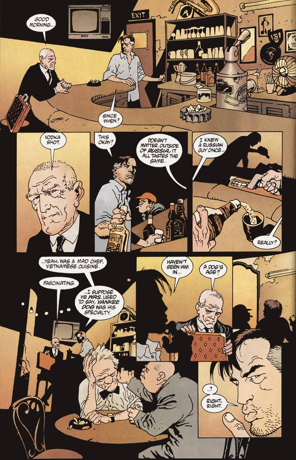 Read online 100 Bullets comic -  Issue #4 - 5