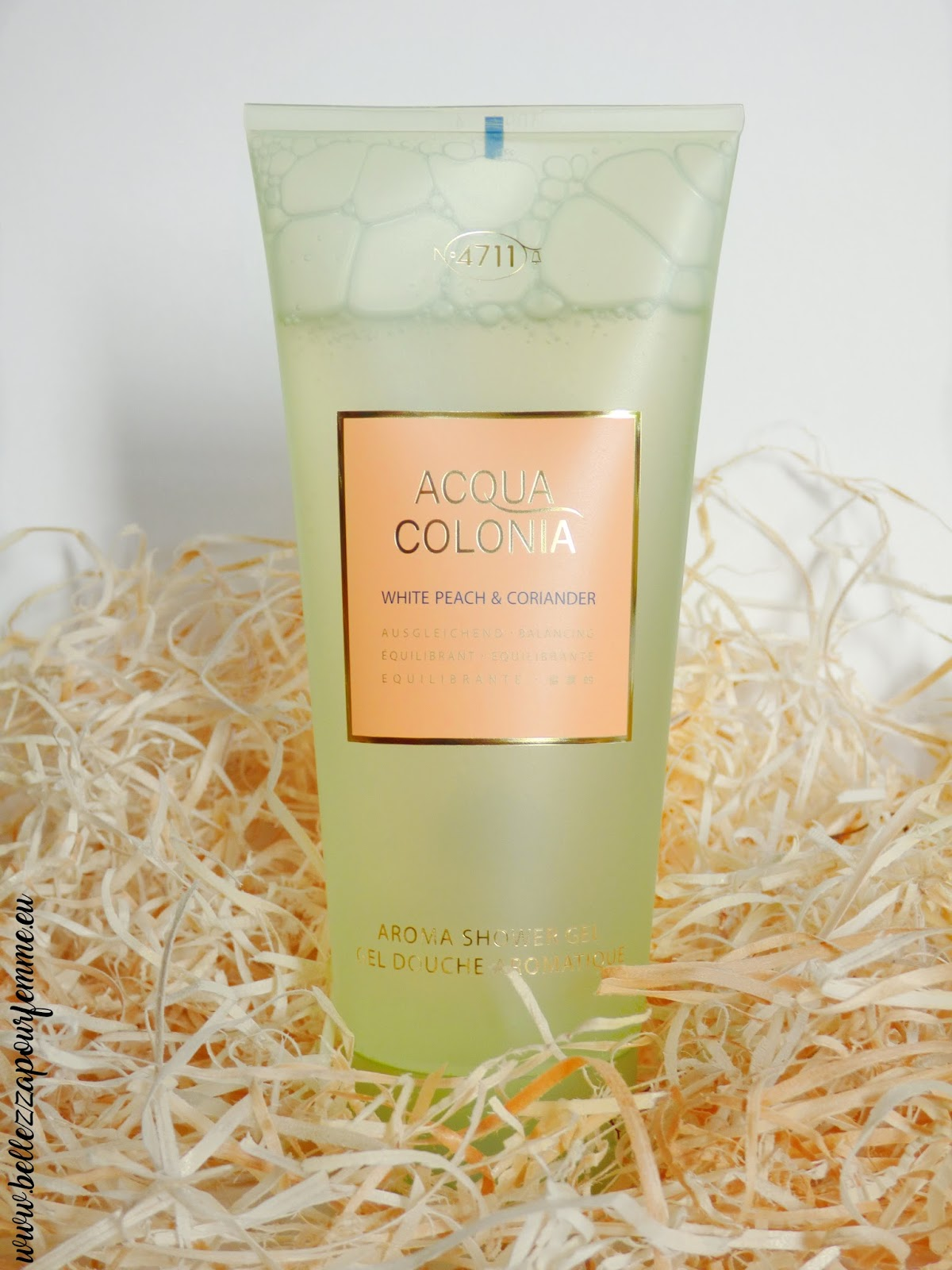 aroma shower gel Acqua Colonia N°4711
