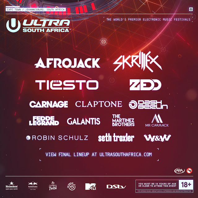 ultra south africa 2016 line up