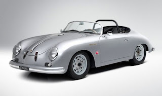 1958 Porsche 356 Speedster Convertible Front Left