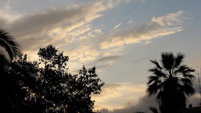 Barcelona, tramonto, luce soffusa, serenità