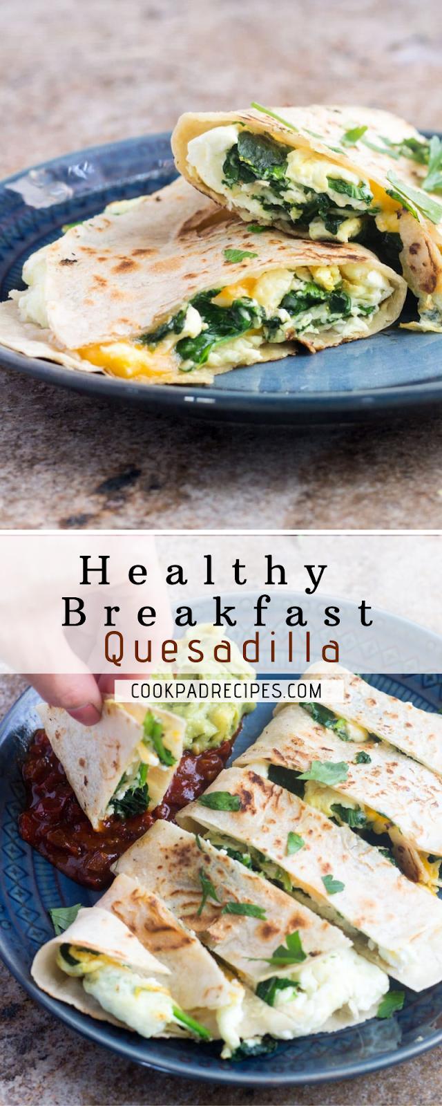 Healthy Breakfast Quеѕаdіllа