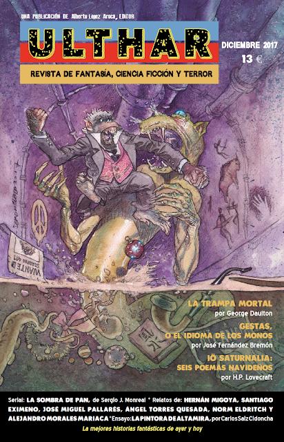 ¡NUEVO! Revista Ulthar nº03. 13 euros