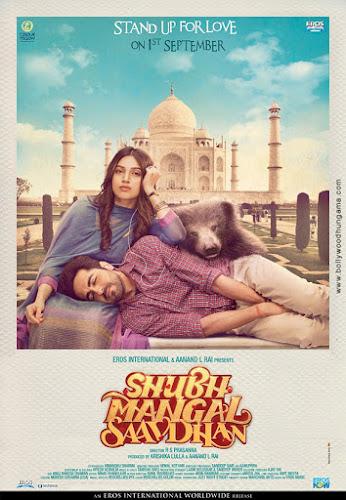 Shubh Mangal Saavdhan (2017) Movie Poster