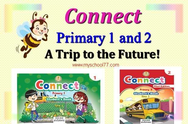 المادة التدريبية لمنهج connect  للصف الاول والثانى الابتدائى  2020