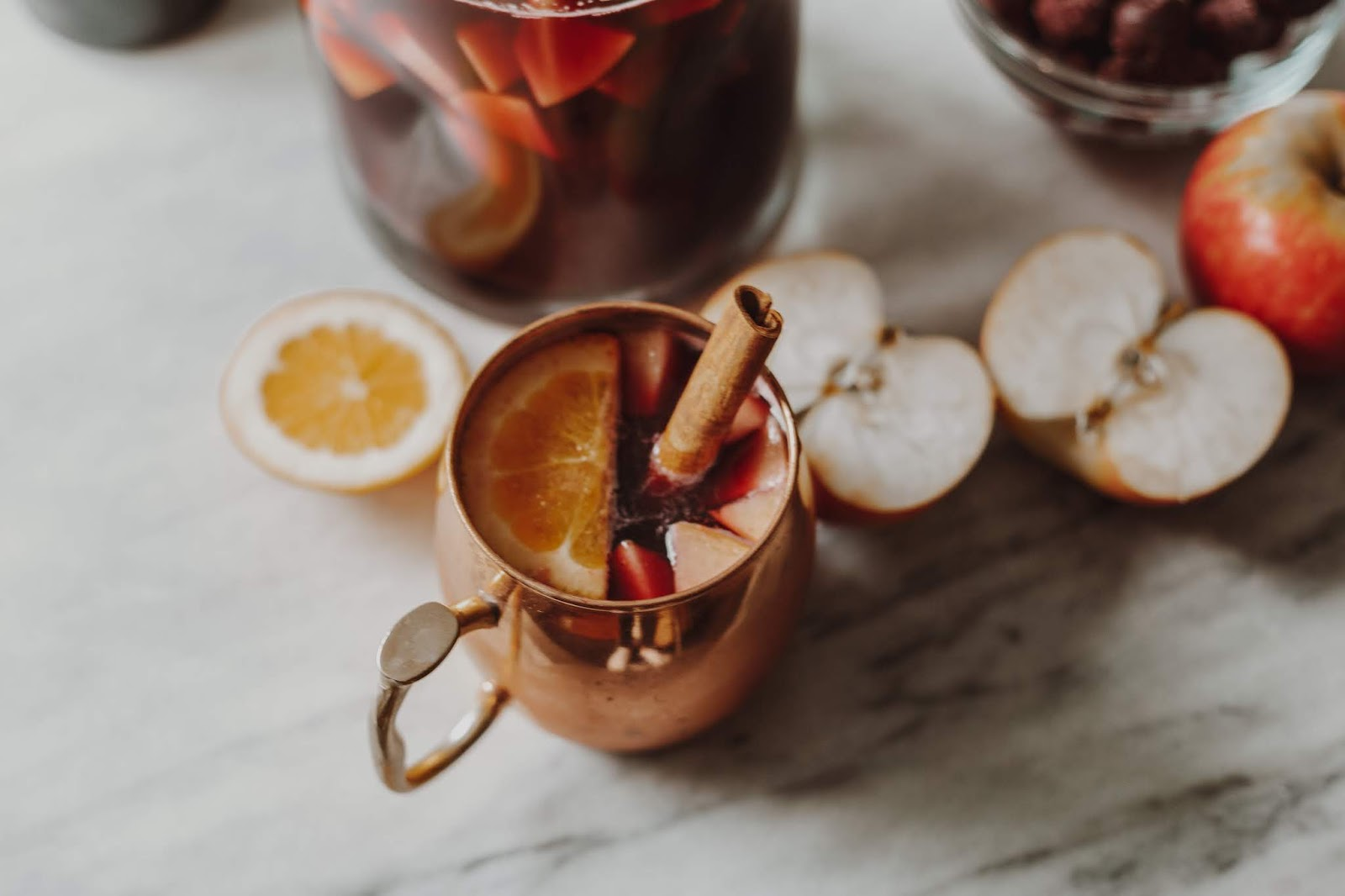 Cherry Apple Fall Sangria