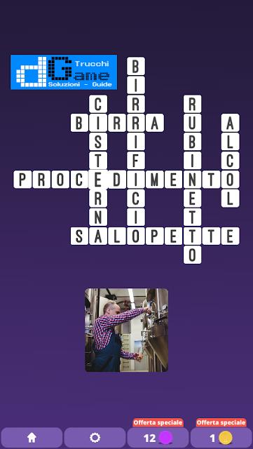 Soluzioni One Clue Crossword livello 26 schemi 4 (Cruciverba illustrato)  | Parole e foto