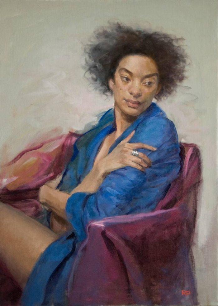 Американский художник. Rick Perez