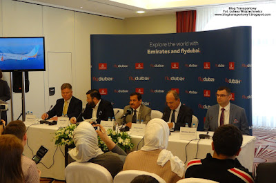 Emirates, flydubai, Kraków Airport - konferencja prasowa