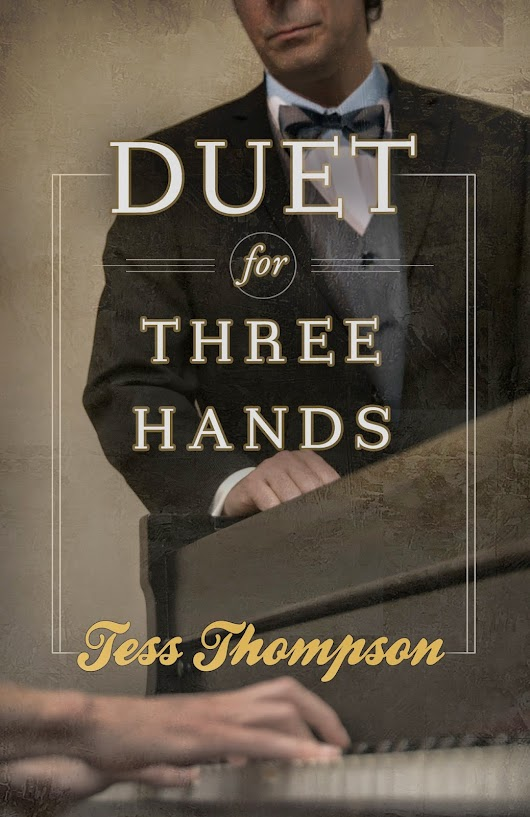 Cover reveal: A Duet for Three Hands by Tess Thompson