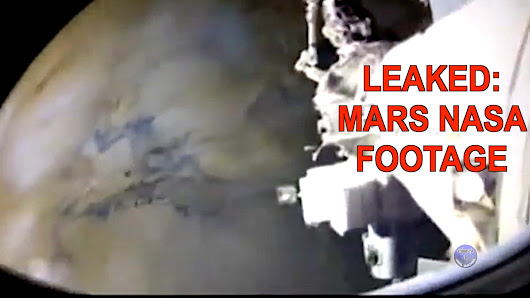 Leaked: Top Secret Mars NASA Footage Compilation