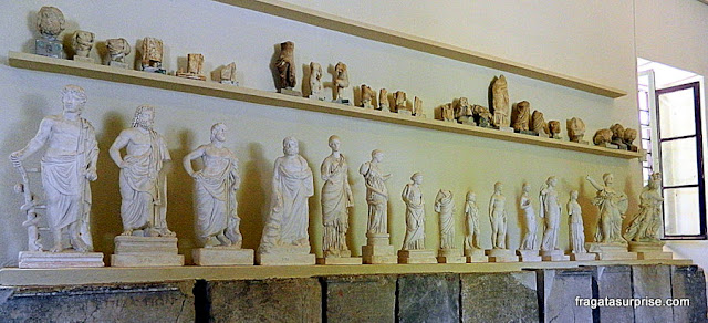 Museu do Sítio Arqueológico de Epidauros, Santuário de Asclépio