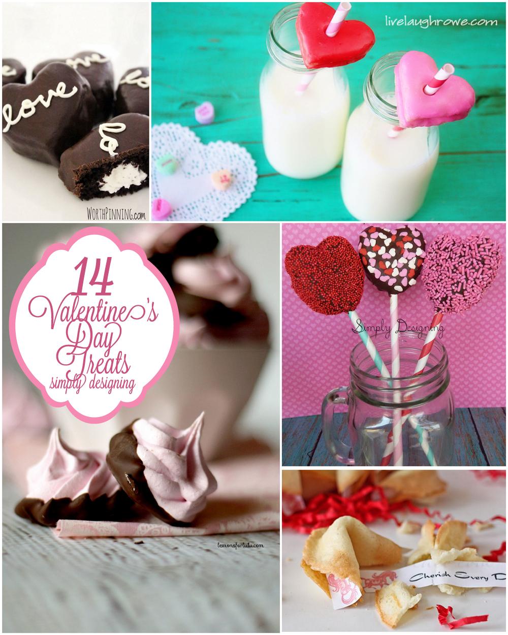 14 Valentine's Day Treats | #valentinesday #recipes #vday