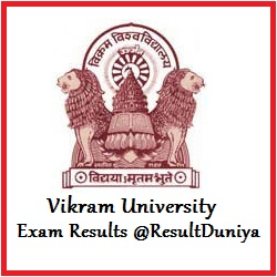 Vikram University Ujjain BA Result 2015