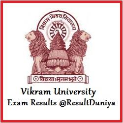 Vikram University Ujjain BA Result 2018