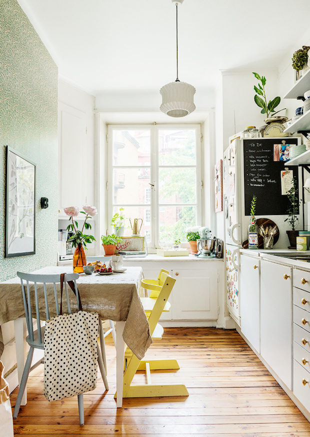 my scandinavian home: Two lovely Swedish kitchen tours