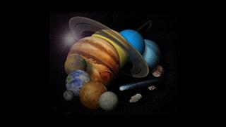 قصص قصيرة عن المجموعة الشمسيه