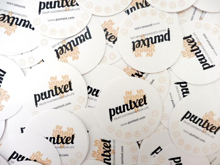 PUNTXET My branding #handmadewithlove by WAYAVA #branding #logo #marca #business