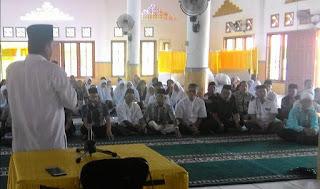 Muhammad Nur, Jaga Kekompakan Dan Ukhuwah Para Calon Jamaah Haji 2018