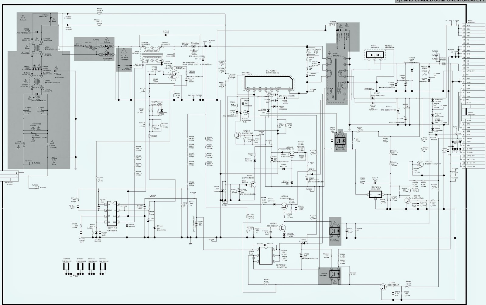 ELECTRONIC EQUIPMENT REPAIR CENTRE : SANYO LC-37A37M