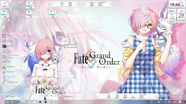 Fate/Grand Order: First Order Theme Win 10 Ver. 1809 by Enji Riz Lazuardi