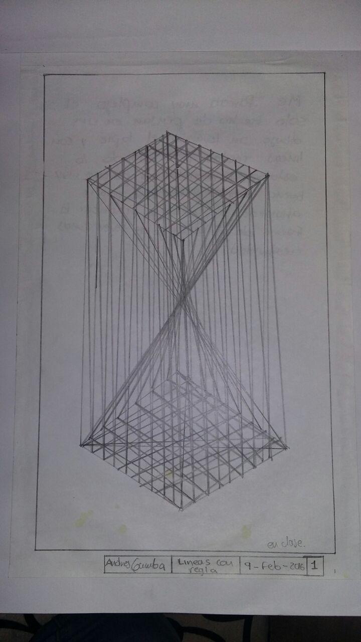 dibujos expresin y comunicacion dibujo 1 lineas con regla