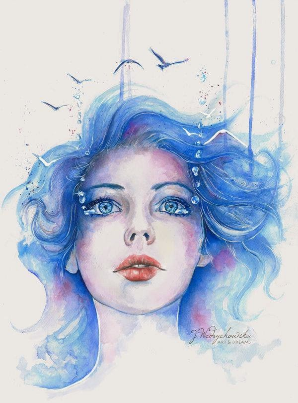 Watercolor Paintings By Joanna Wedrychowska