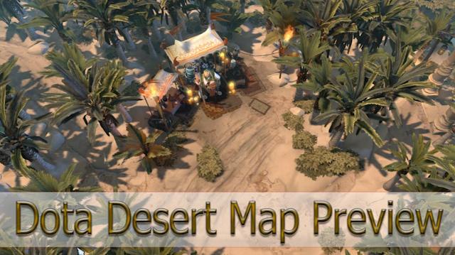 Mod Map Desert Dota 2