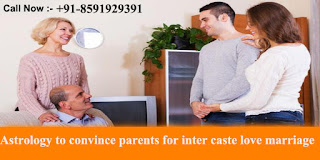 Astrology to convince parents for inter caste love marriage