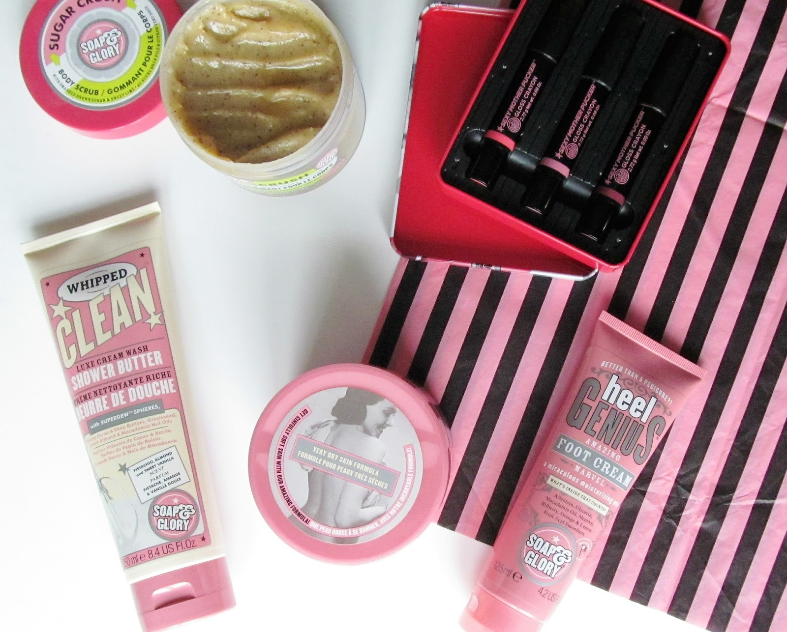 soap and glory favourites blog post