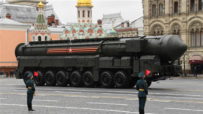 Russian military nuclear missile hits mock target 6,000 km away
