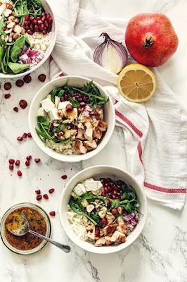 Obrok salata sa ćuretinom (#sutrajedanas)