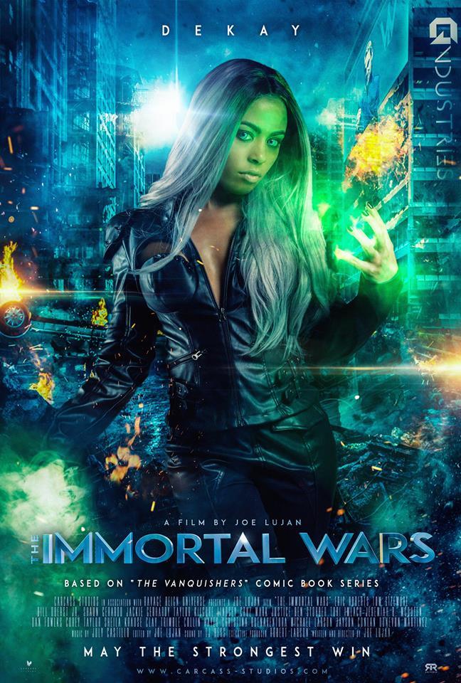 Lindsey Cruz movies list and roles (The Immortal Wars: Resurgence