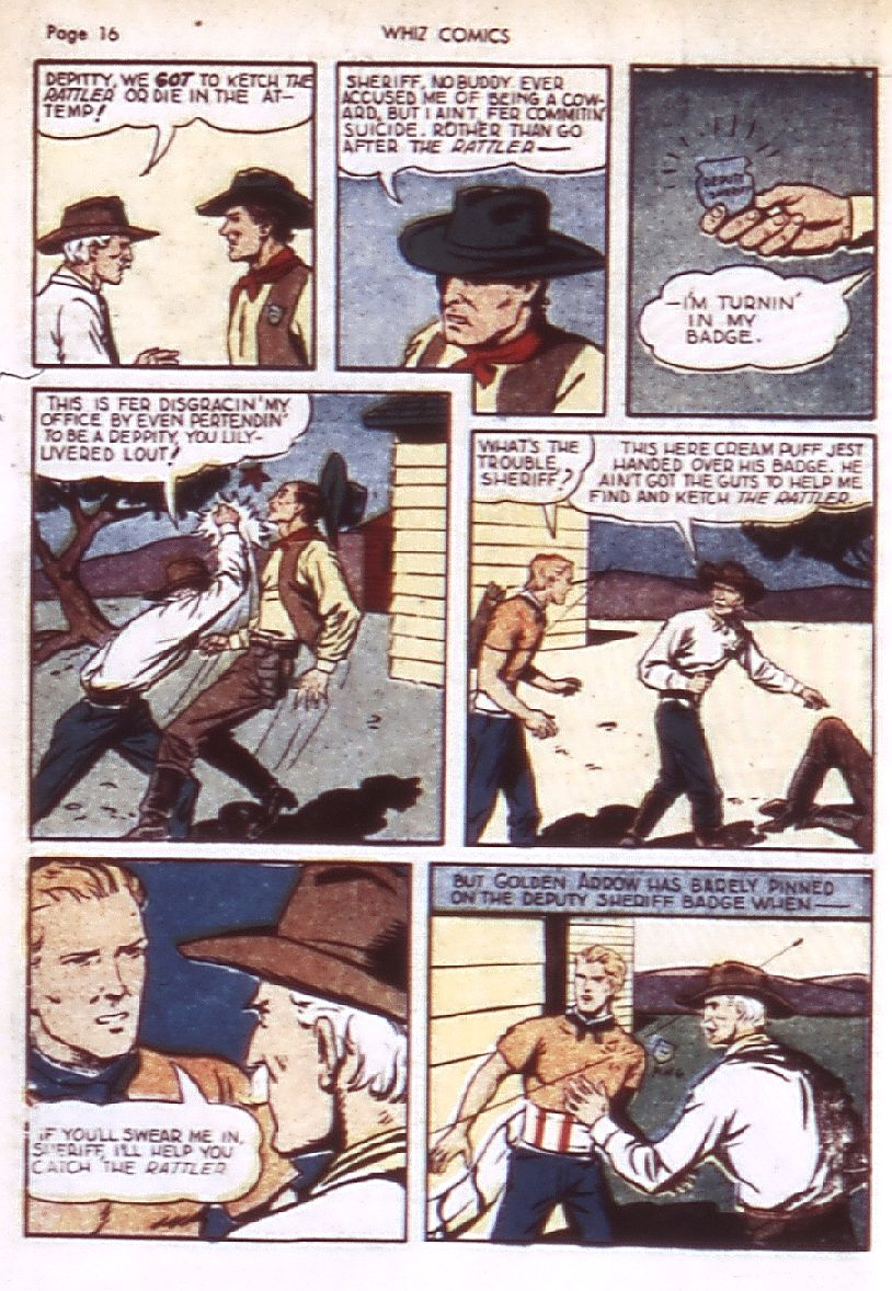 WHIZ Comics issue 22 - Page 18