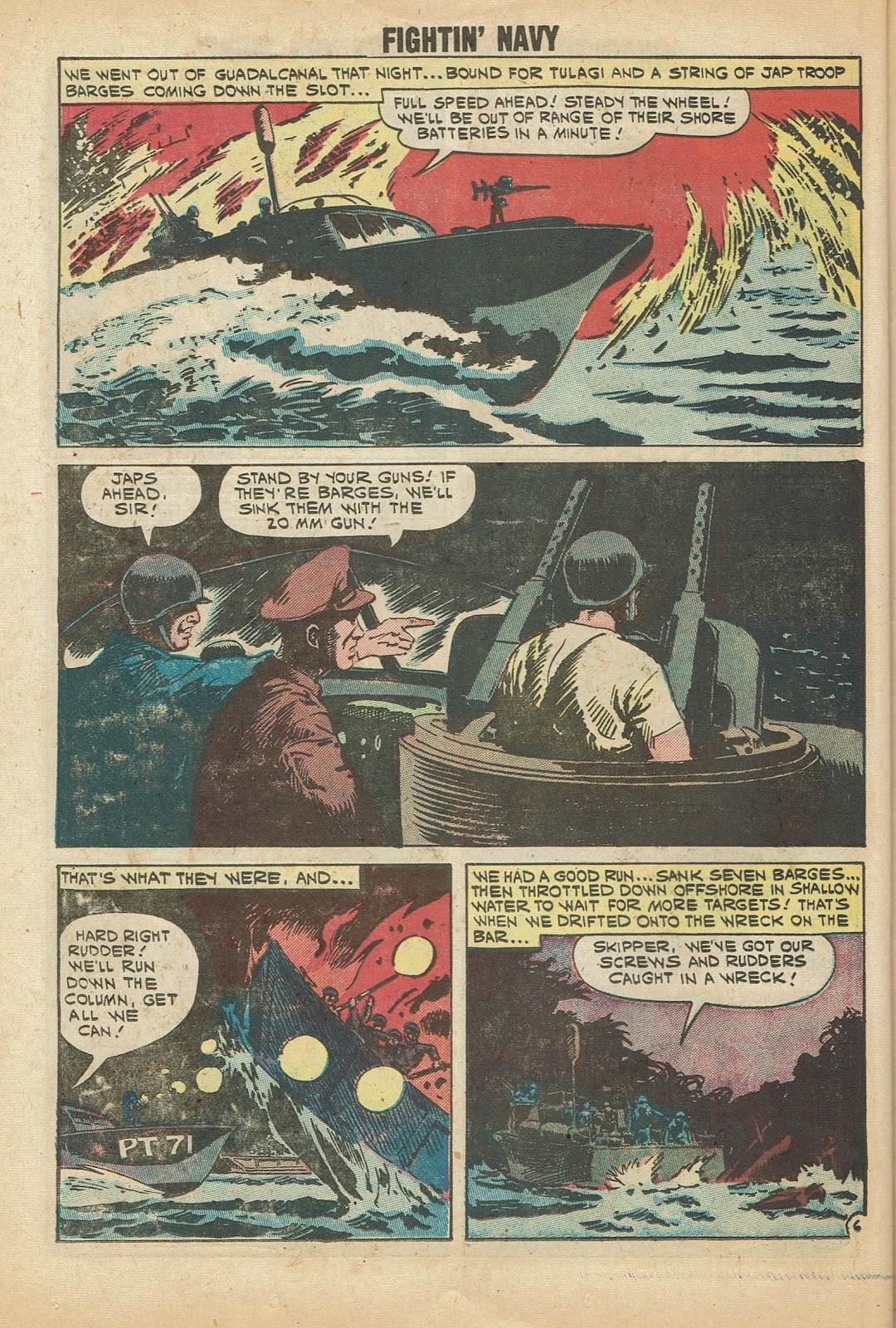Read online Fightin' Navy comic -  Issue #97 - 26