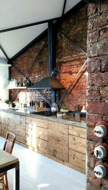 kitchen loft decoration idea