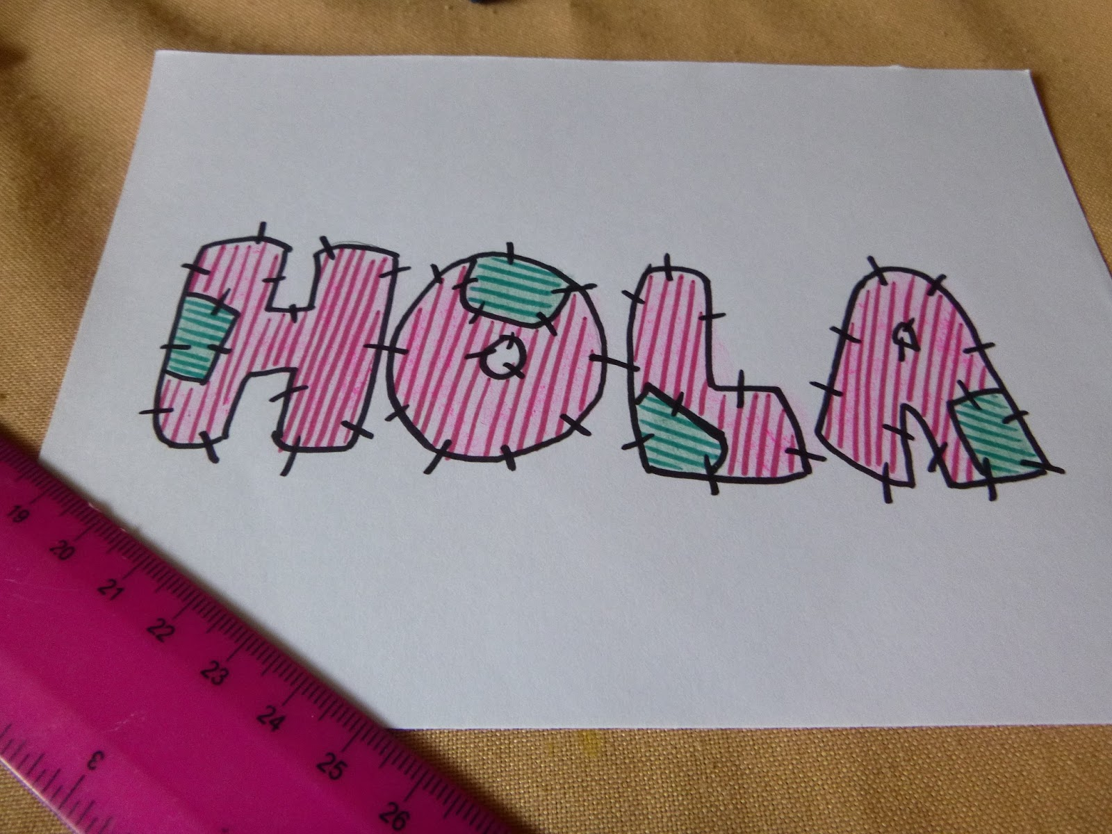C mo decorar letras manitas creativas - Letras home decoracion ...