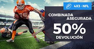 Paston Promoción NFL: Combinada 4x3 hasta 19 noviembre