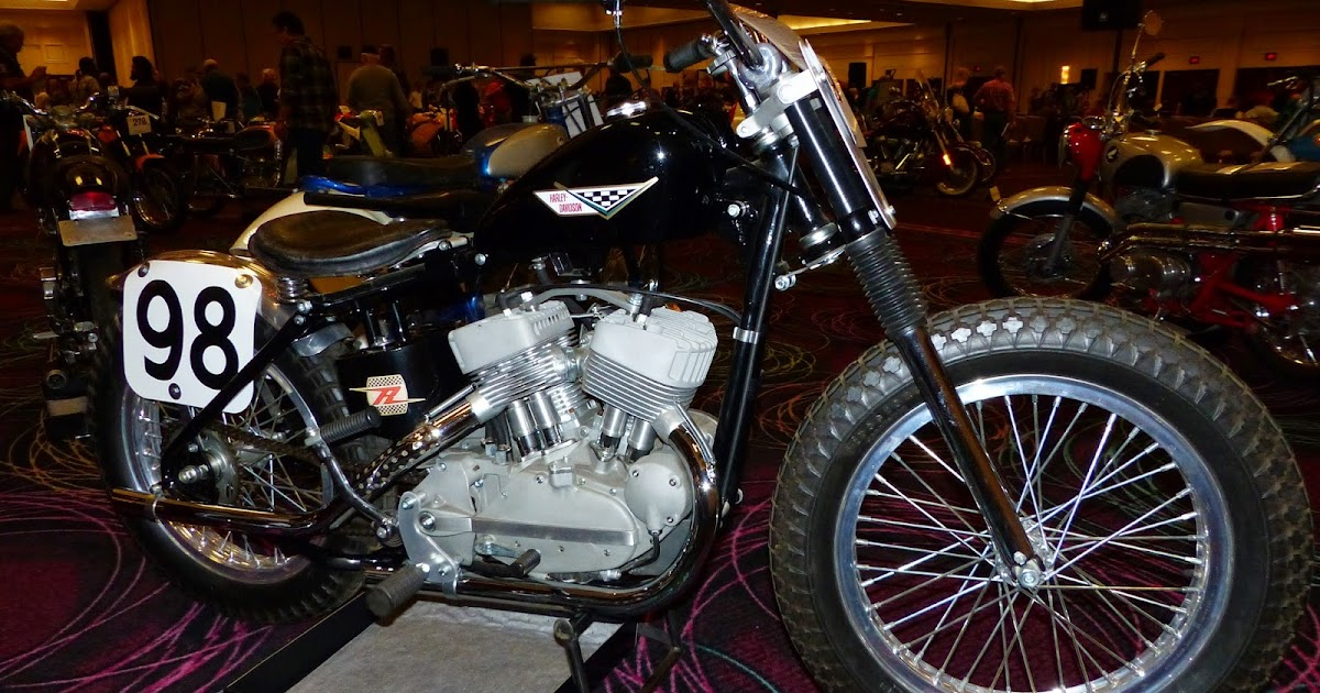 1970 Harley Davidson Evel Knievel Tribute: OldMotoDude: 1959 Harley Davidson KR750 -- Ex Joe Leonard