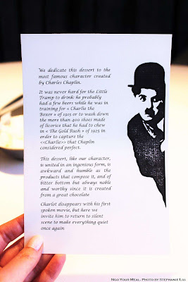 Chaplin at ABaC Restaurante in Barcelona