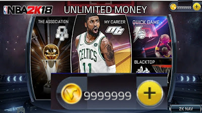 Download  NBA 2K18 Apk + Mod Data